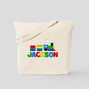 TRAIN - Personalized JACKSON Tote Bag