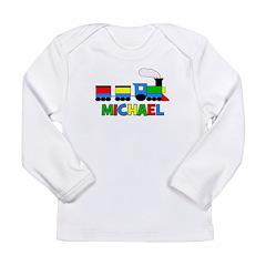 TRAIN_Michael Long Sleeve Infant T-Shirt