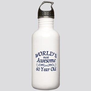 Awesome 60 Year Old Stainless Water Bottle 1.0L