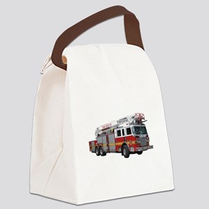 firetruck2 Canvas Lunch Bag