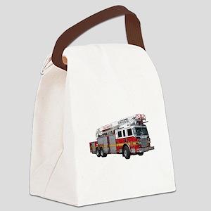 firetruck2 Canvas Lunch Bag
