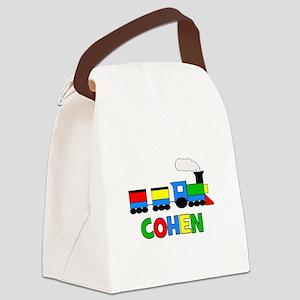 TRAIN_COHEN Canvas Lunch Bag