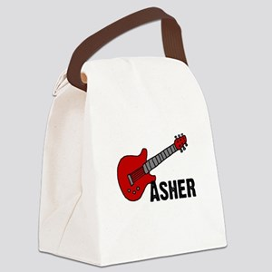 guitar_asher Canvas Lunch Bag