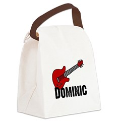 guitar_dominic Canvas Lunch Bag