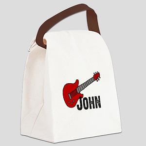 guitar_john Canvas Lunch Bag
