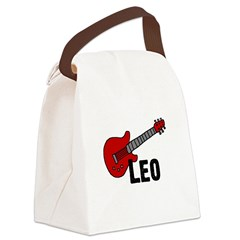 guitar_leo.png Canvas Lunch Bag