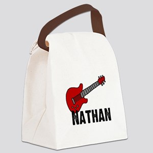 guitar_nathan Canvas Lunch Bag