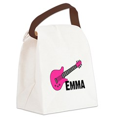 guitar_emma_pink.png Canvas Lunch Bag