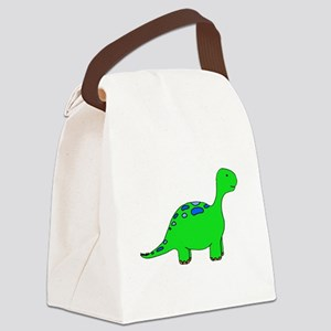 dino_TR Canvas Lunch Bag