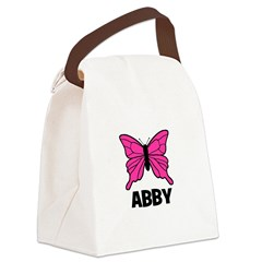 butterfly_ABBY.jpg Canvas Lunch Bag