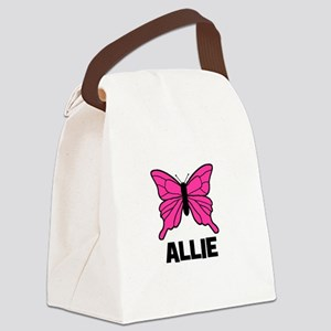 butterfly_ALLIE Canvas Lunch Bag