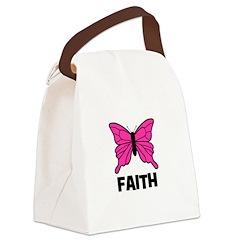 butterfly_FAITH.jpg Canvas Lunch Bag