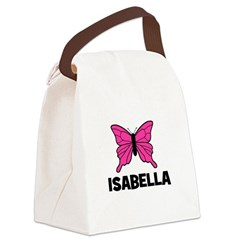 butterfly_ISABELLA.jpg Canvas Lunch Bag