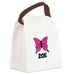 butterfly_ZOE Canvas Lunch Bag