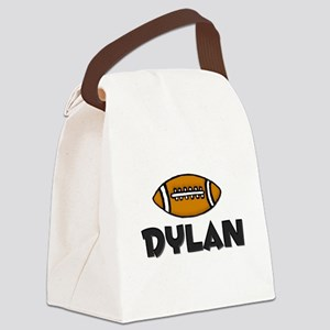 footballdylanblack Canvas Lunch Bag