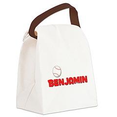 baseballbenjamin.psp Canvas Lunch Bag