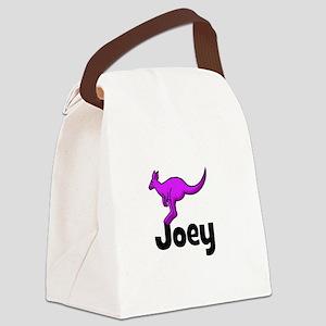 kangaroo_purple_JOEY Canvas Lunch Bag