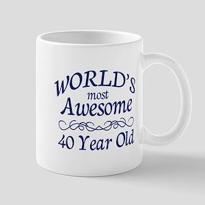 Awesome 40 Year Old Mug