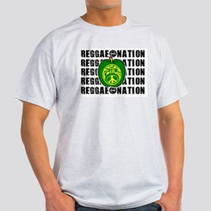 REGGAE NATION-MENSWEAR Ash Grey T-Shirt
