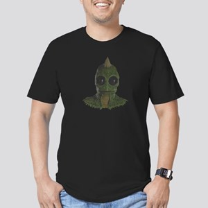 sleestak Men's Fitted T-Shirt (dark)