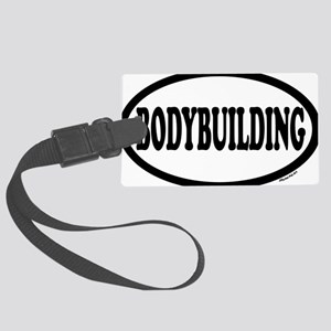 BODYBUILDING Large Luggage Tag
