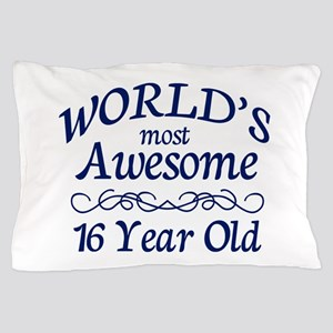 Awesome 16 Year Old Pillow Case