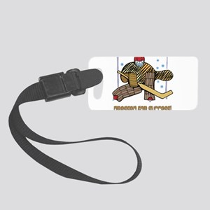 Dressed for Success black Small Luggage Tag