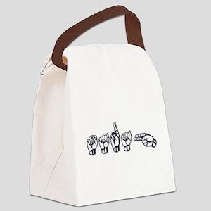 Sarah Canvas Lunch Bag