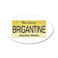 Brigantine NJ Tag Gifts Wall Decal