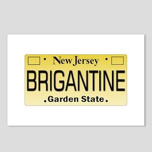 Brigantine NJ Tag Gifts Postcards (Package of 8)
