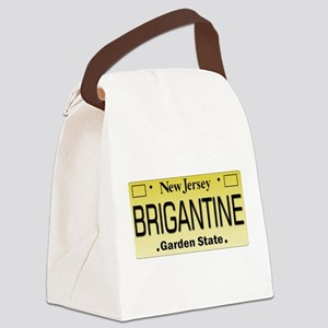 Brigantine NJ Tag Gifts Canvas Lunch Bag
