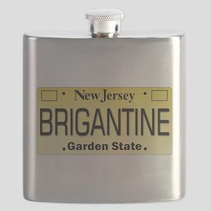 Brigantine NJ Tag Gifts Flask
