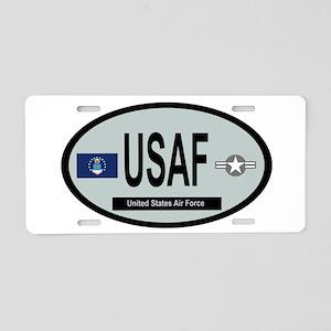 United States Air Force - Low vis Aluminum License