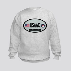 United States Army Air Corps Kids Sweatshirt