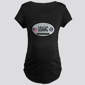 United States Army Air Corps Maternity Dark T-Shir