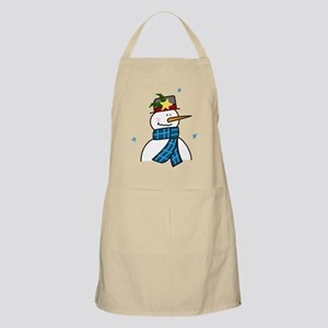 Winter Snowman Apron