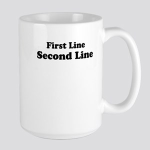 2lineTextPersonalization Large Mug