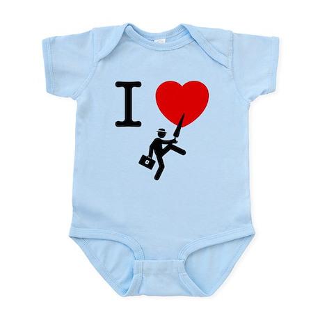 Silly Walks Infant Bodysuit