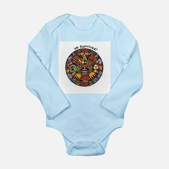 We Survived!2012 Mayan Calendar Long Sleeve Infant