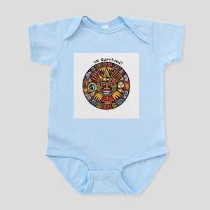 We Survived!2012 Mayan Calendar Infant Bodysuit