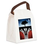 Sir Real Canvas Lunch Bag