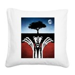 Sir Real Square Canvas Pillow
