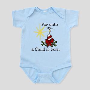 For Unto Us Infant Bodysuit