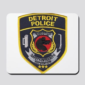 Detroit PD Narcotics Mousepad