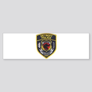 Detroit PD Narcotics Bumper Sticker