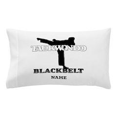 Taekwondo - Black Belt Custom Pillow Case