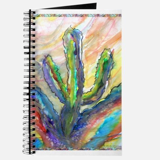 Cactus, southwest art! Journal