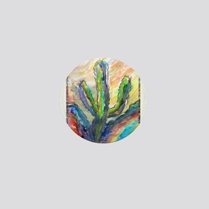 Cactus, southwest art! Mini Button