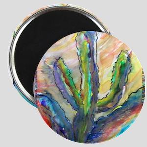 Cactus, southwest art! Magnet