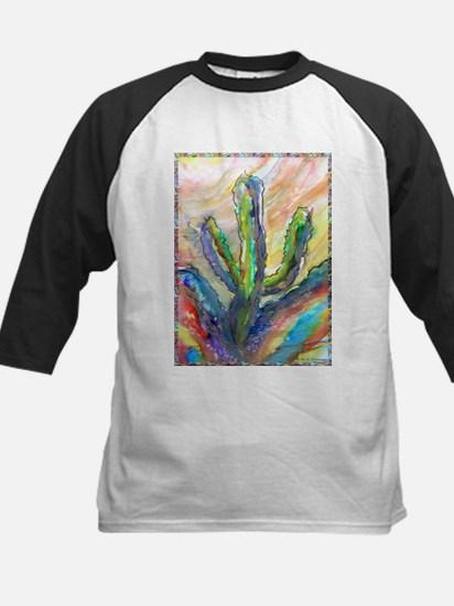 Cactus, southwest art! Kids Baseball Jersey